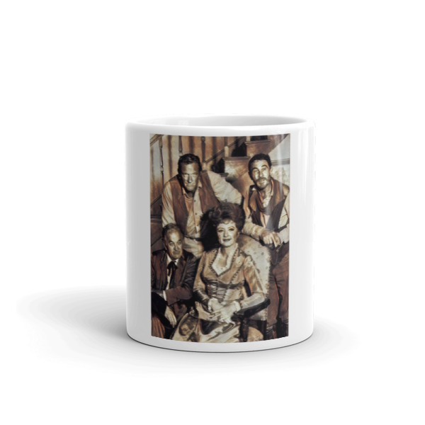 Gunsmoke cast mug #1 from Soulfulartcreations