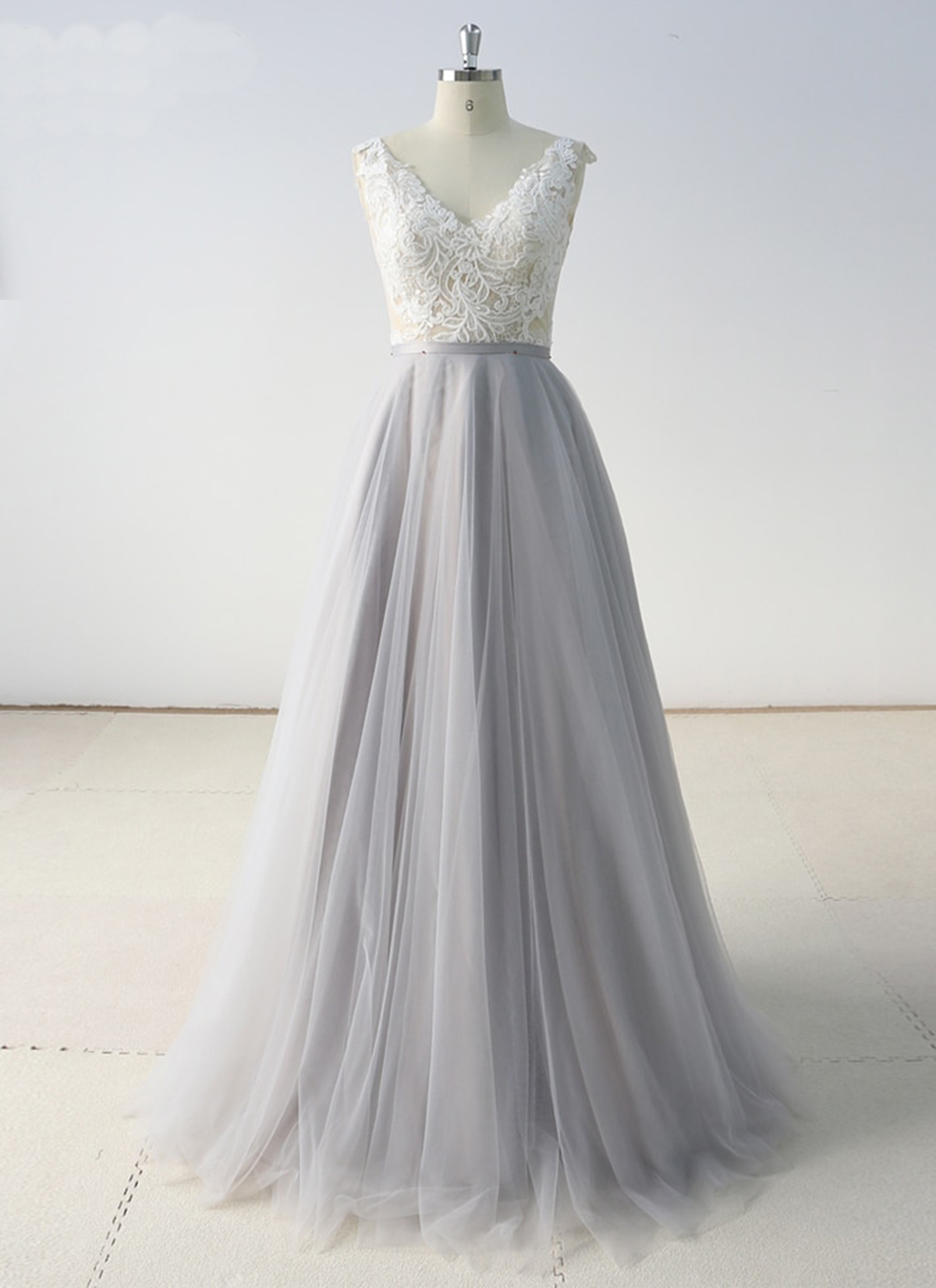 Cheap Prom Dresses by SweetheartDress · 2019 Gray Tulle A ...