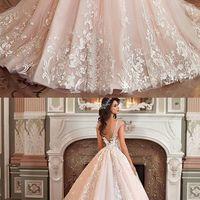 16fa0932c30 Stunning Light Pink Wedding Dress