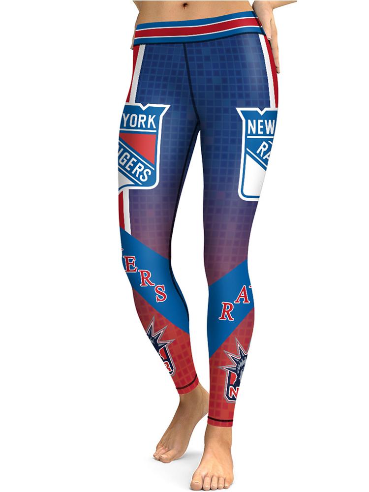 huge discount cffba ebe7d New York Rangers Hockey Team Workout Women Yoga Pants Ice Hockey Leggings  from ZIELO (Pls Pls Pls read FAQs)