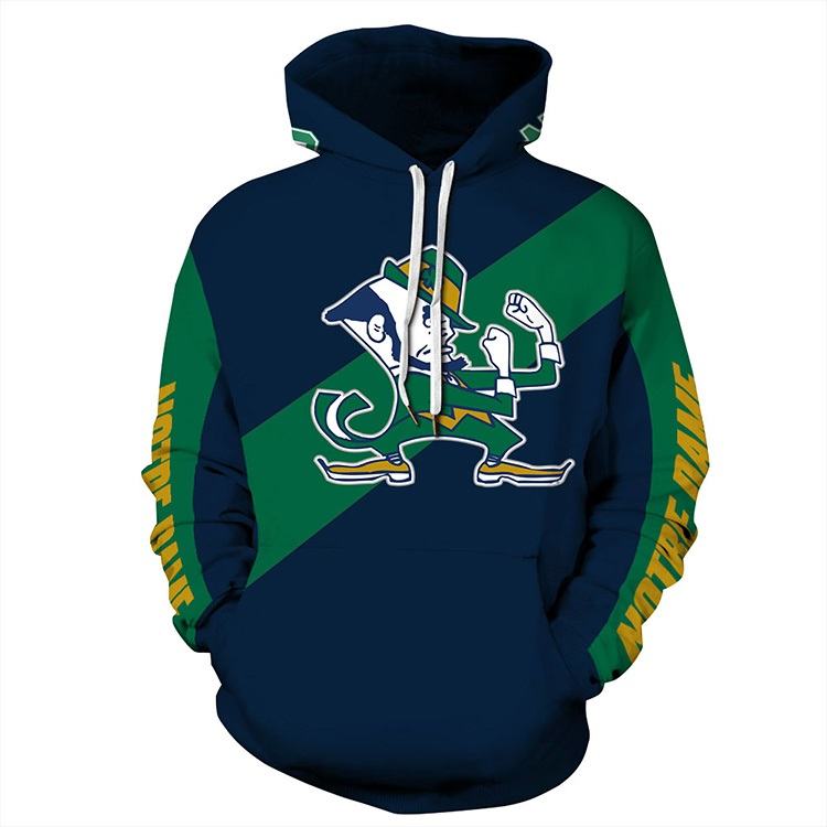 5a14840ab University of Notre Dame Fighting Irish Sports and Fitness Unisex Football  Hoodies
