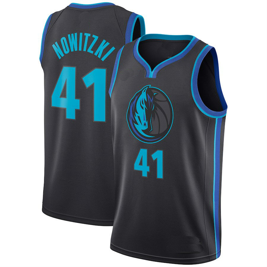 5995e502e 2019 Youth Dallas Mavericks  41 Dirk Nowitzki Basketball Jersey-City Edition