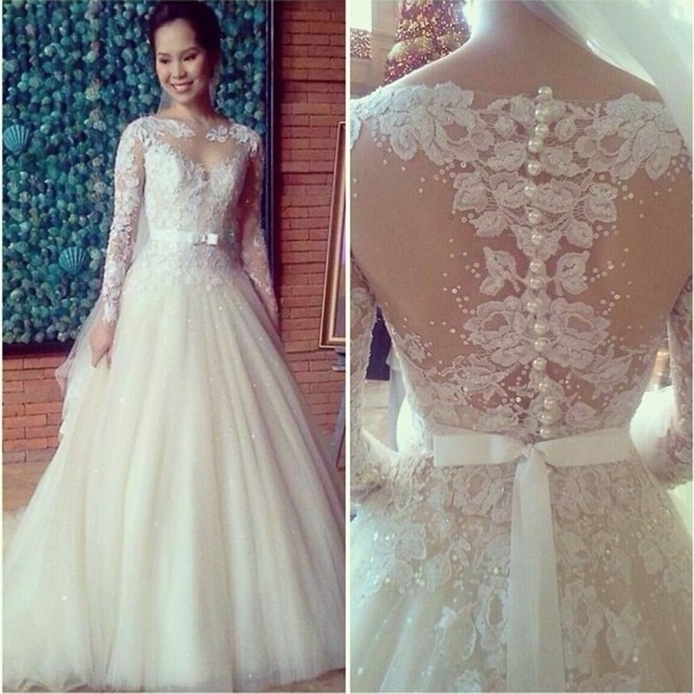 437ce50492 New Sweetheart White Ivory Bridal Gown Wedding Dress - Thumbnail 1 ...