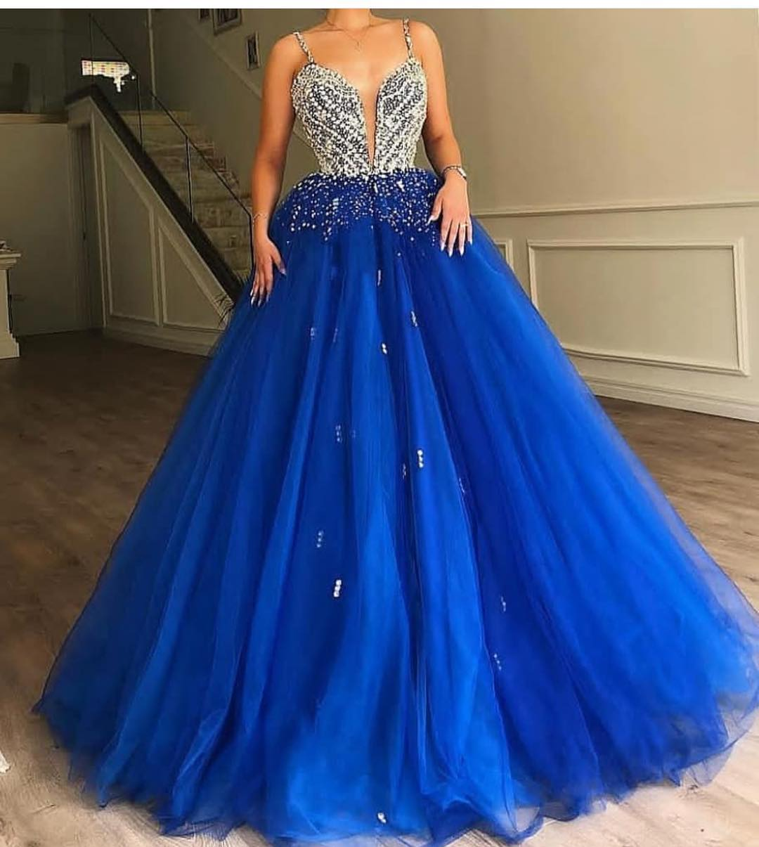 e6145c49455 Ball Gown Prom Dresses Royal Blue - Data Dynamic AG
