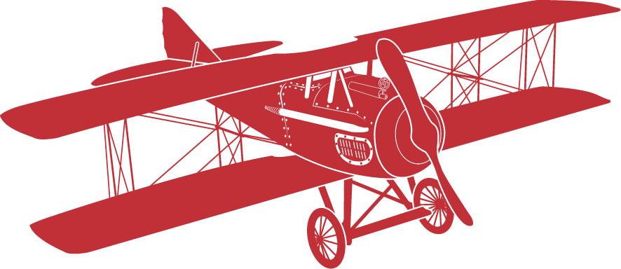 vintage airplane clipart - photo #4