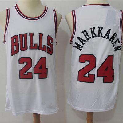 71778f322 Men s chicago bulls 24 lauri markkanen white 2018 19 basketball jersey -  Thumbnail 4