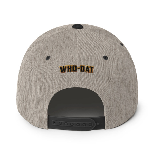 43b0e68097bc2 Who-Dat Queen (Snapback Hat) on Storenvy