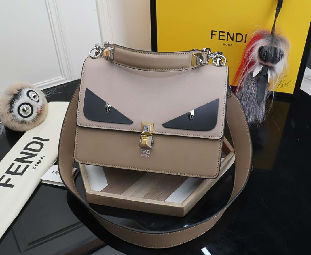FENDI Kan I Bag Bugs small shoulder bag In Pink on Storenvy d9d0f5f5ad91d