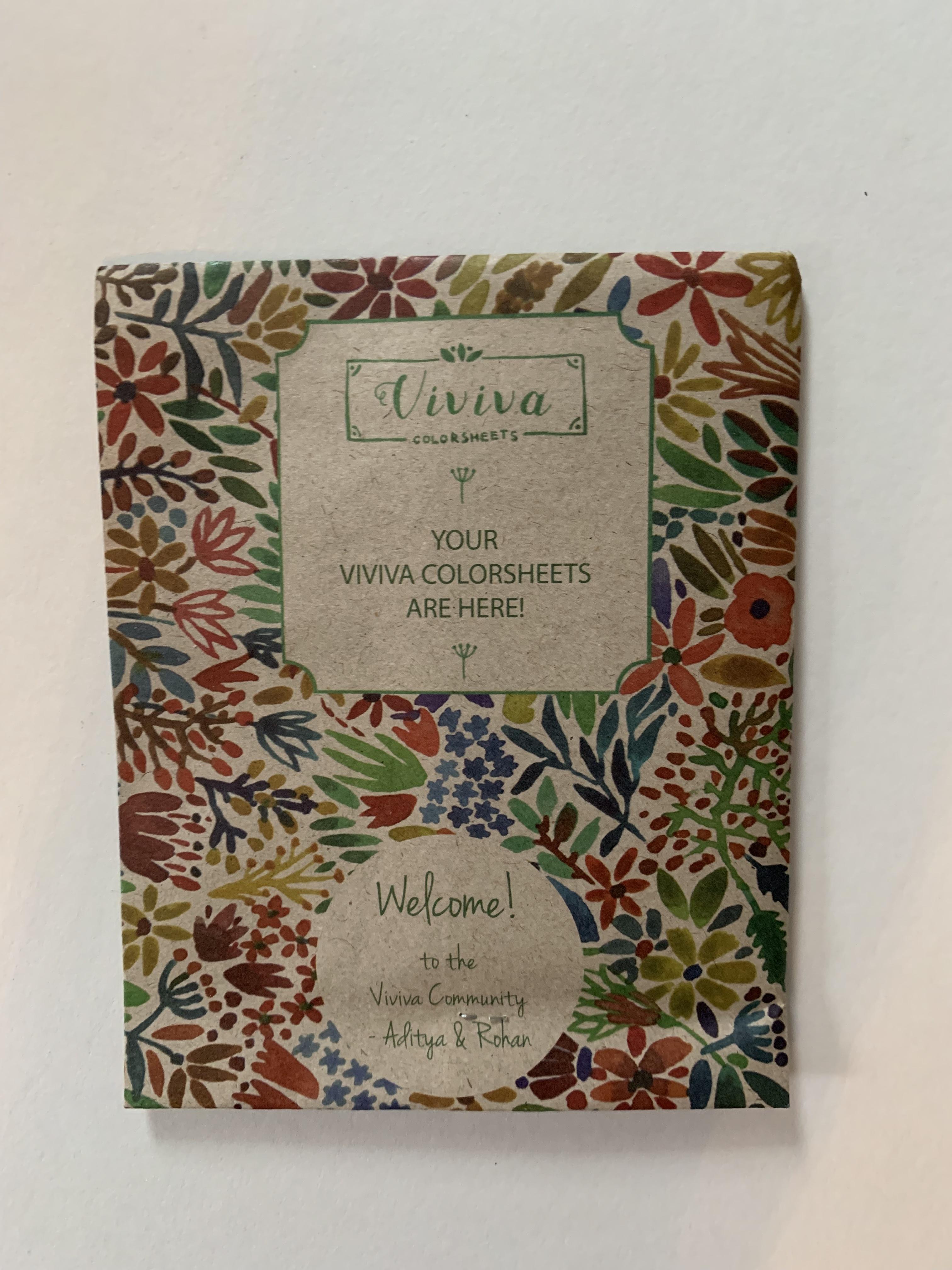 Viviva Color Sheets Xanadu Art Studio Online Store Powered By