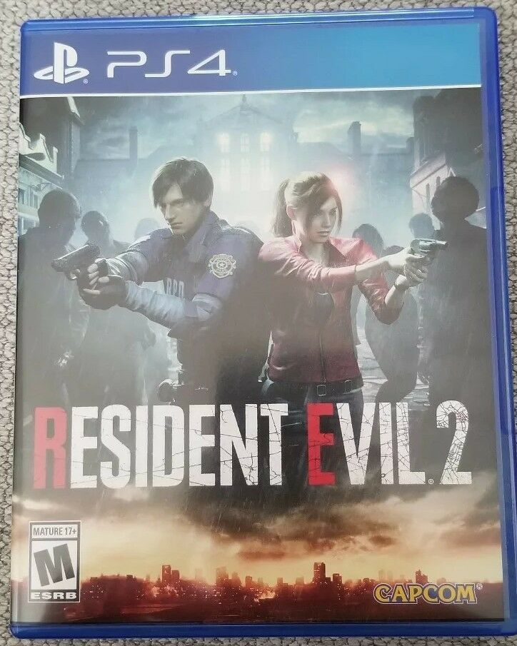 Resident Evil 2 Remake File Size Ps4