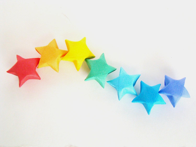 Rainbow Brights - 100 Origami Lucky Stars · Origami ... - photo#27