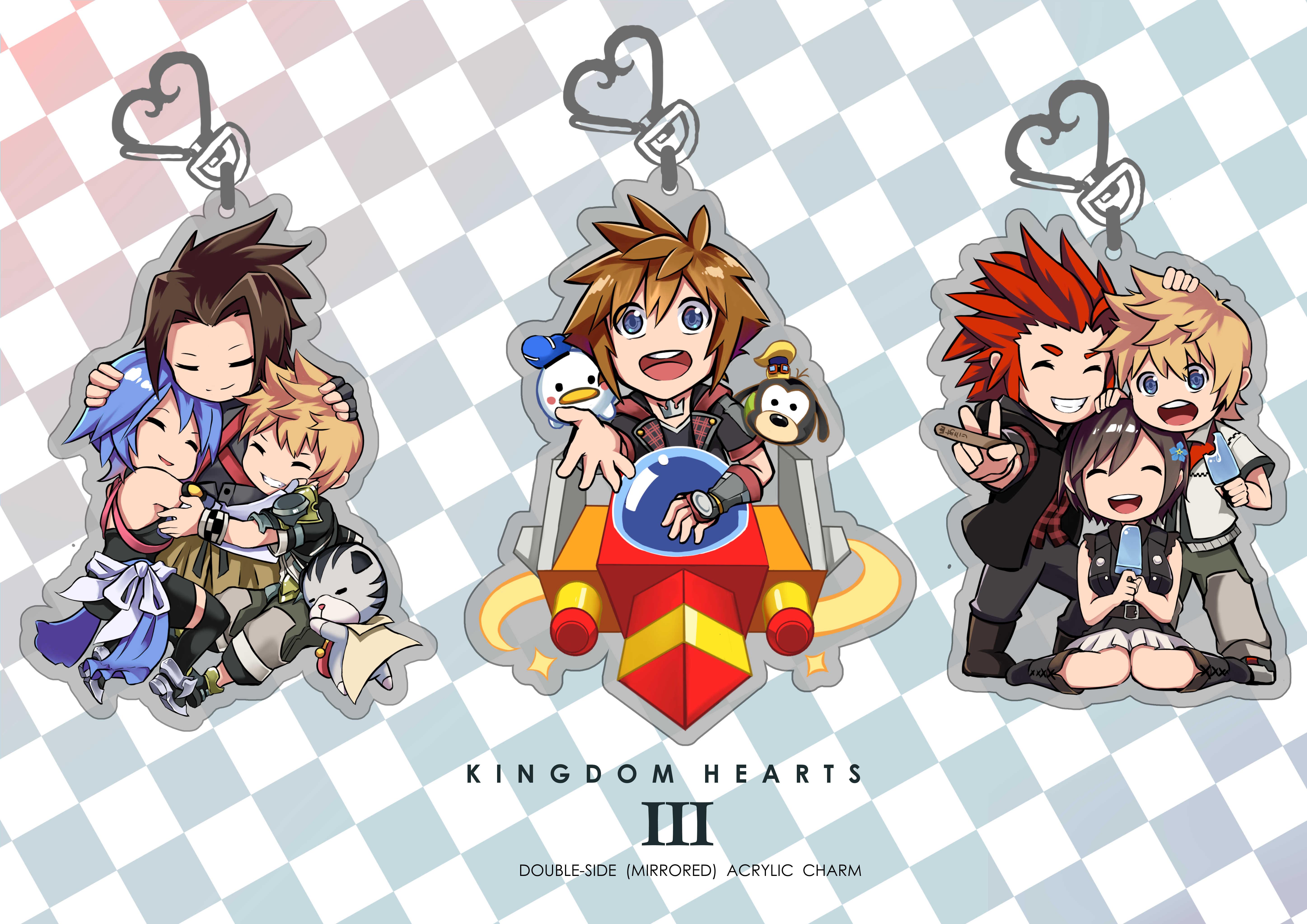 Kingdom Hearts 3 Charms