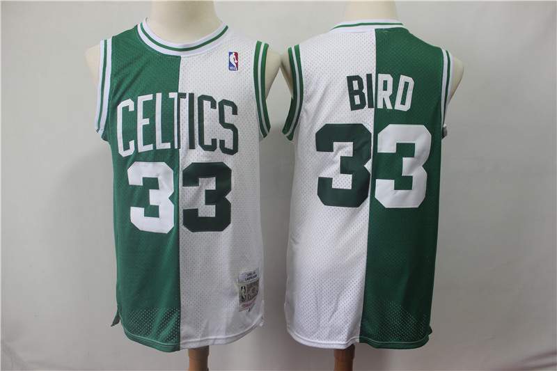 35be13615722 2019 Boston Celtics  33 Larry Bird Basketball Jersey · teamjerseyinc ...
