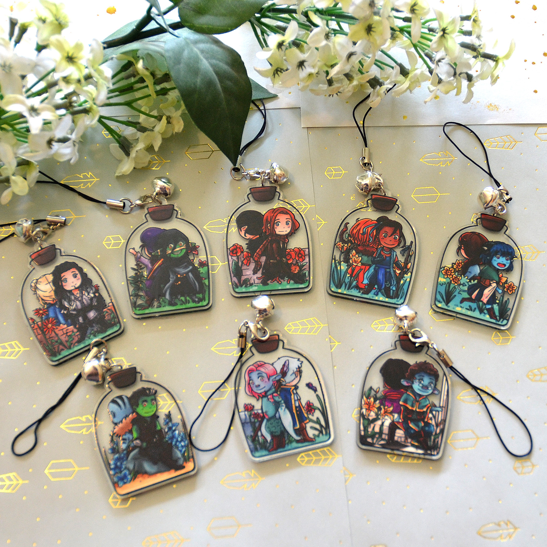 Critical Role Potions - Vox Machina & The Mighty Nein Acrylic Charms sold  by Arisupaints