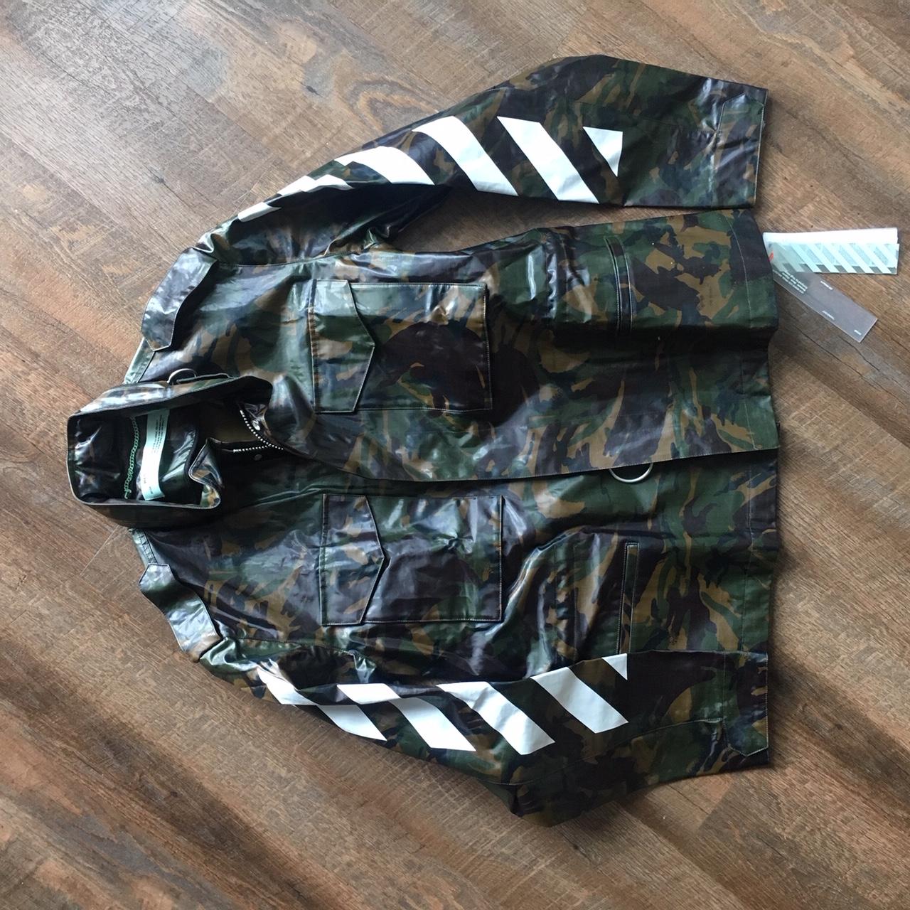 def0e14237357 Off-White: Diagonal M65 Camo Jacket on Storenvy