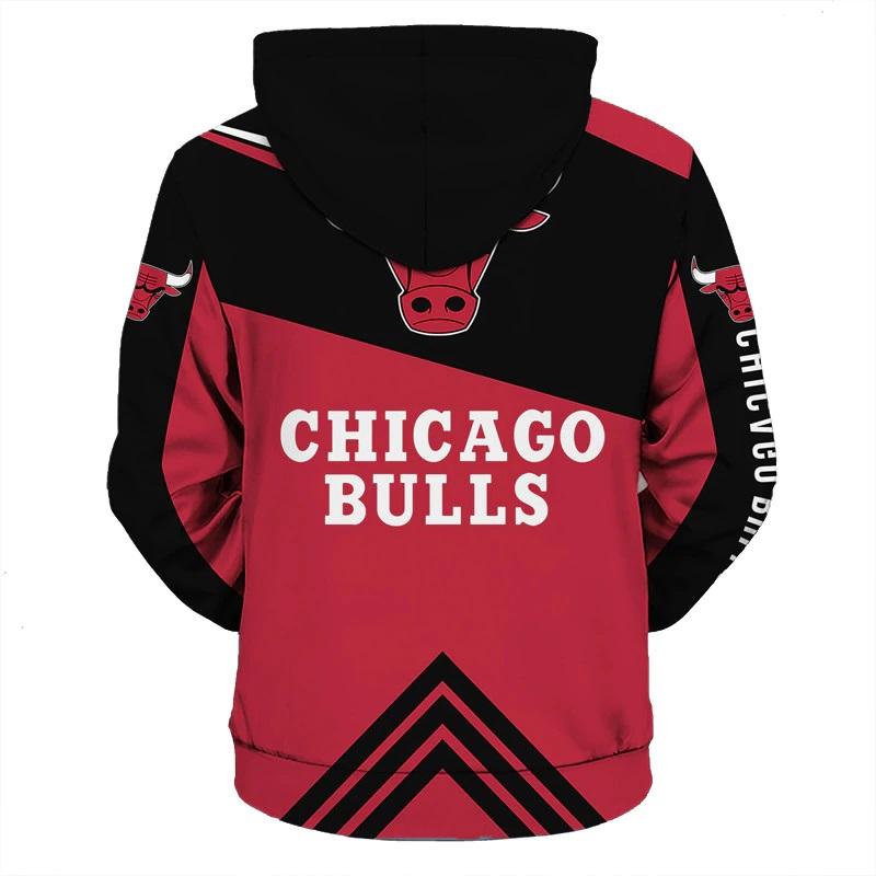 395b86fb4 ... Chicago Bulls Hoodie NBA Basketball Sweatshirts New Season - Thumbnail  2 ...