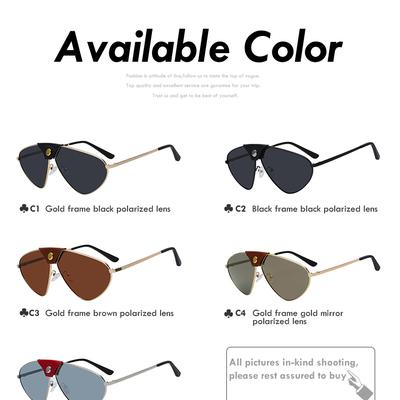 3216a71cfba0 2019 sunglasses men women brand designer polarized glasses fashion retro  vintage sunglasses pilot style high quality