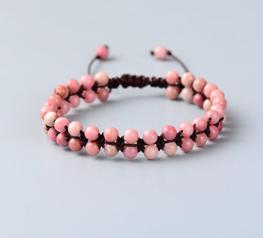 Braided Bracelet Bracelet Faceted Handmade String Knot Onyx Dropshipping  Friendship Bracelet Boho Bohemian India New