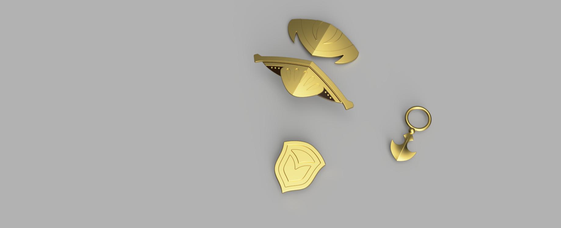THARJA's Christmas Armor [3D Print Files] from Dangerous Ladies' Cosplay  Kits