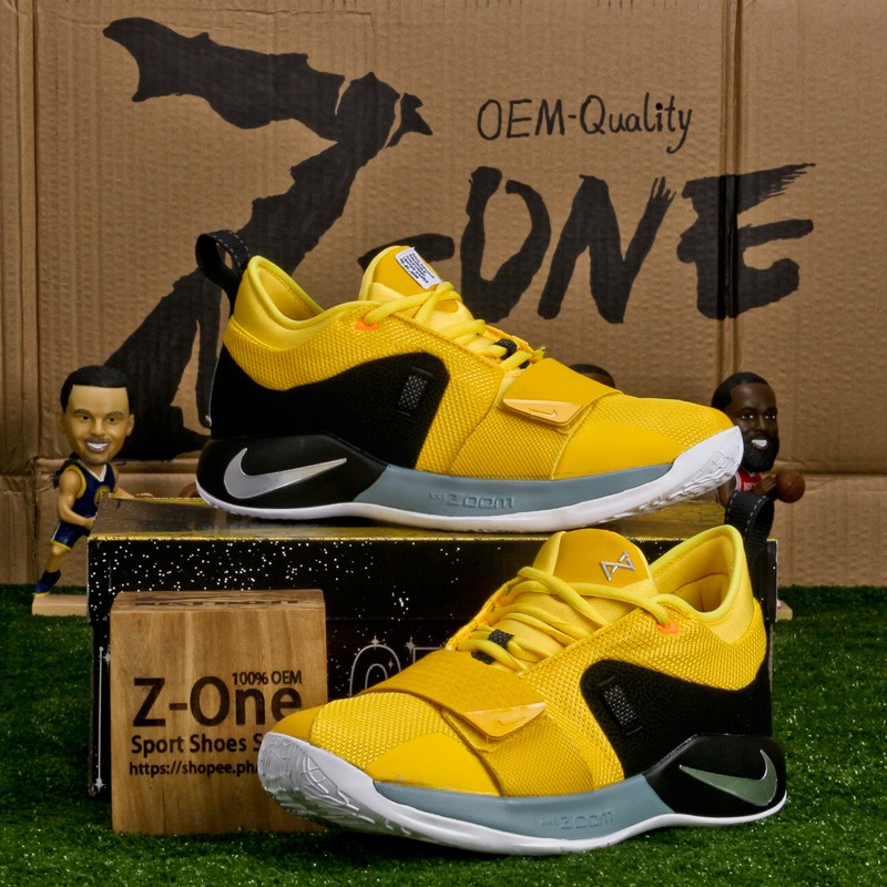 low priced 9d701 ebee0 Nike PG 2.5 EP Basketball shoes For men Sneakers Yellow sold by sport shoes