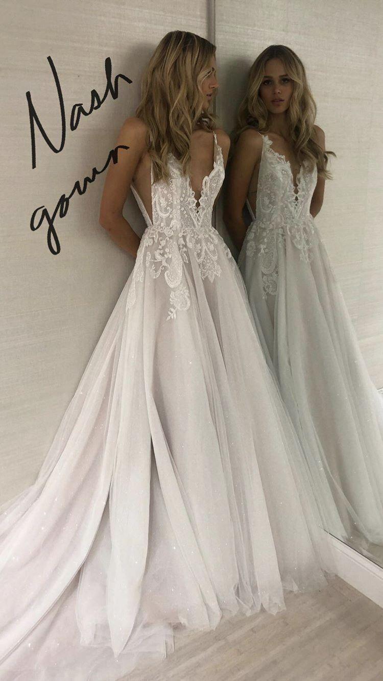 Spaghetti Straps Wedding Dress Informal Boho Wedding Dress Sexy Open Back Bridal Dress Sancta Sophia Online Store Powered By Storenvy