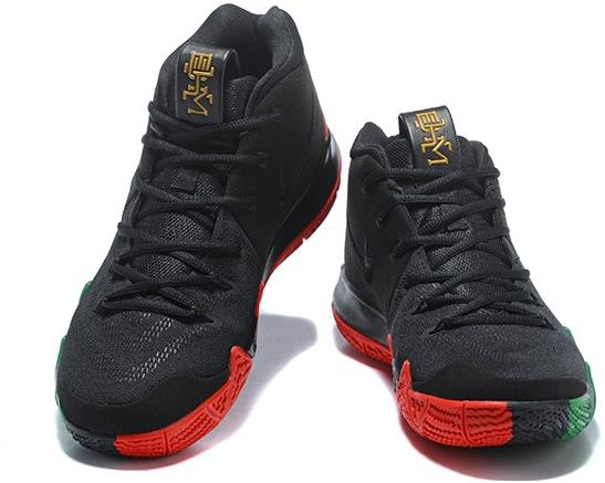 brand new e16dd 82fc0 2018 Nike Kyrie 4 Equality Black Green Red On Sale from BELLDRESS