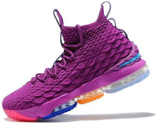 timeless design 5ff0f c175d The Lastest Footwear Nike LeBron 15 What The Volt Purple Basketball Shoe  Factory Outlet from BELLDRESS