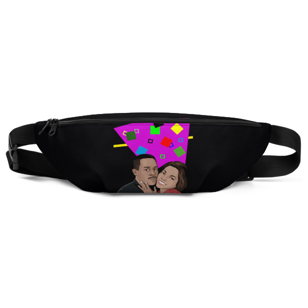8fa18597cef Love Black Love (Martin & Gina) Fanny Pack from Can I Beat Apparel