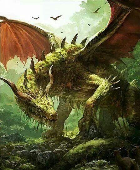 Green Forest Dragon E On Storenvy
