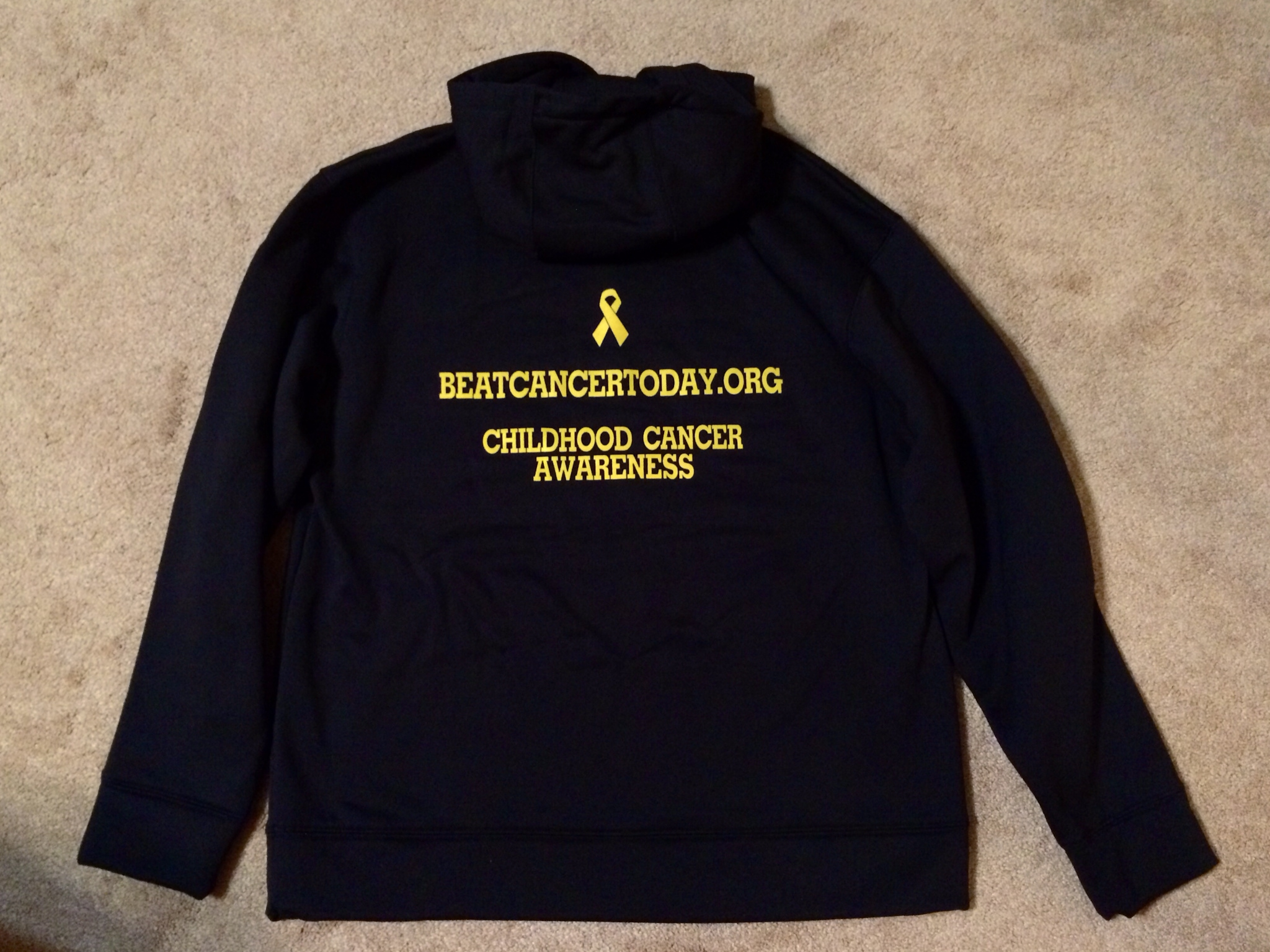 11878dad6b93 Black Gold Under Armour® Hoodie · BeatCancerToday.org · Online ...