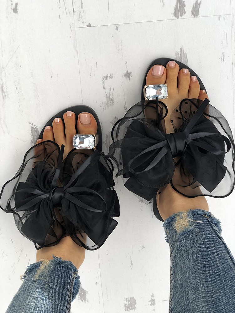 Women's Cute Bowtie Decorate Non-Slip