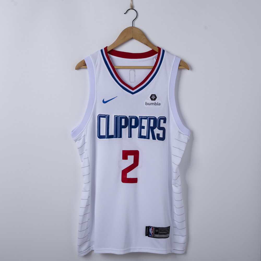 separation shoes 4bf17 20914 Men's LA Clippers Kawhi Leonard White 2019/20 Swingman Jersey – Icon  Edition S-2XL