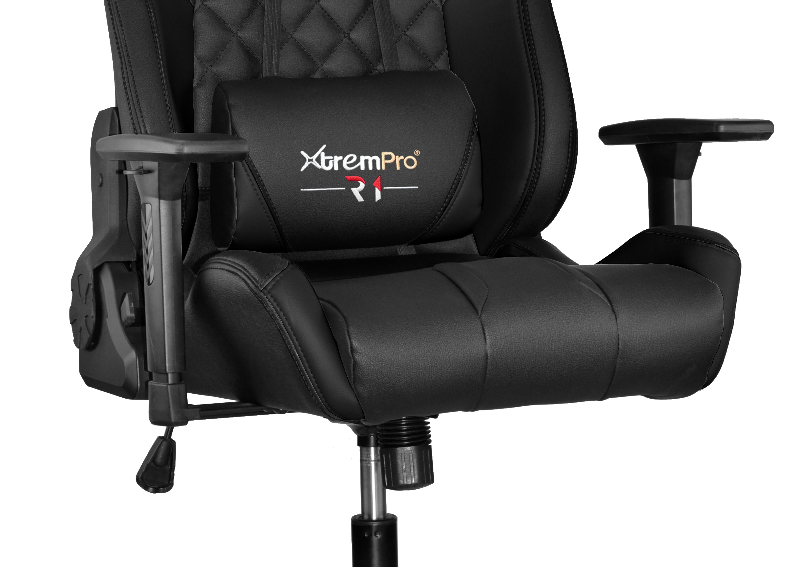 Fantastic R1 Racing Style Gaming Chair With Colorful Rgb Lights Lumbar Support Black Alphanode Cool Chair Designs And Ideas Alphanodeonline