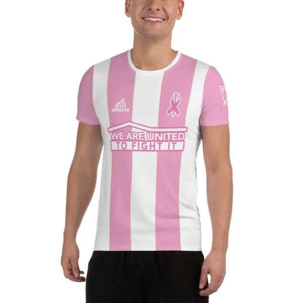 brand new 6bcc6 9e7d6 Breast Cancer Atlanta United Soccer Jersey Custom from Morrison Image  Collective