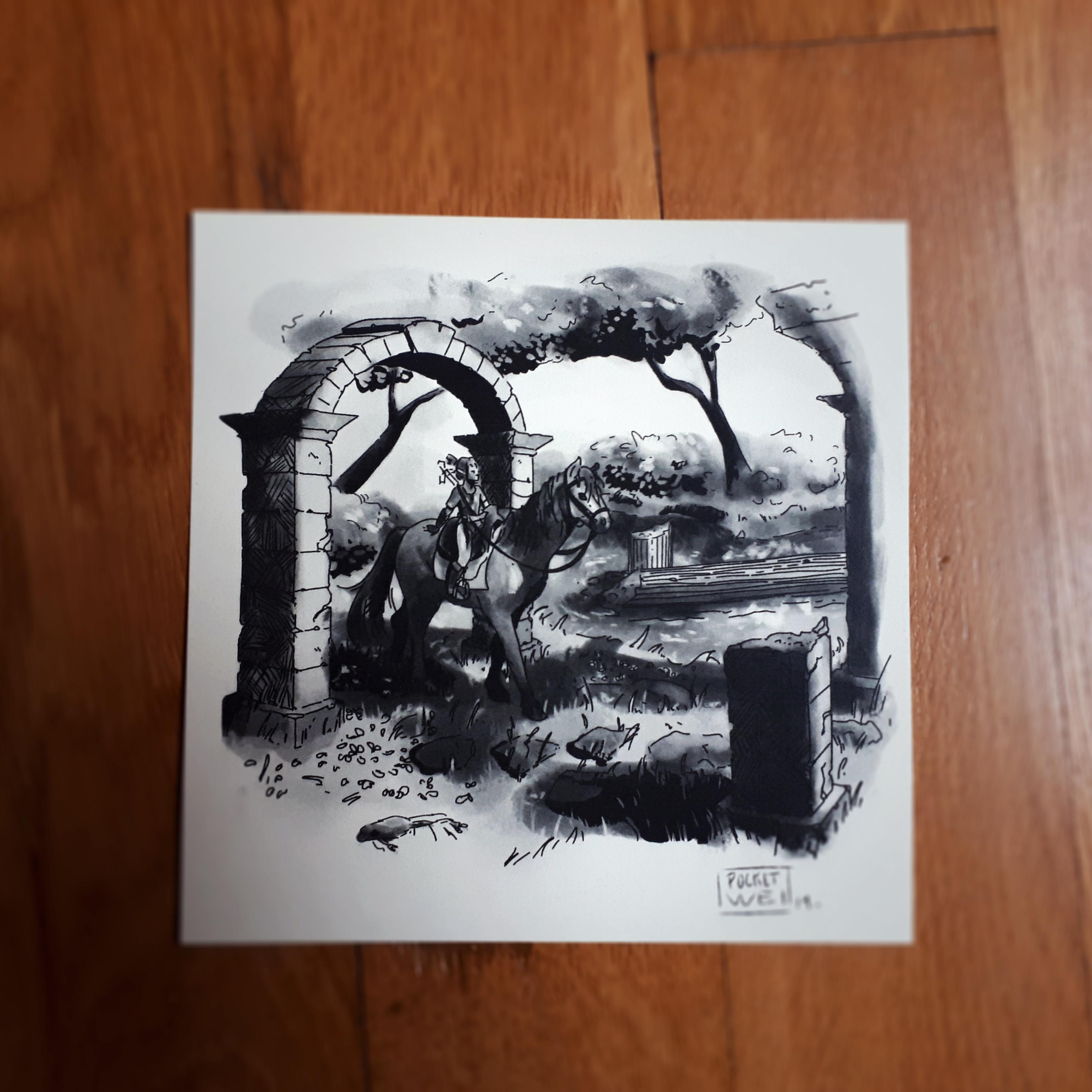 Sacred Ground Ruins Lost Memories Botw Sold By Pocketwei