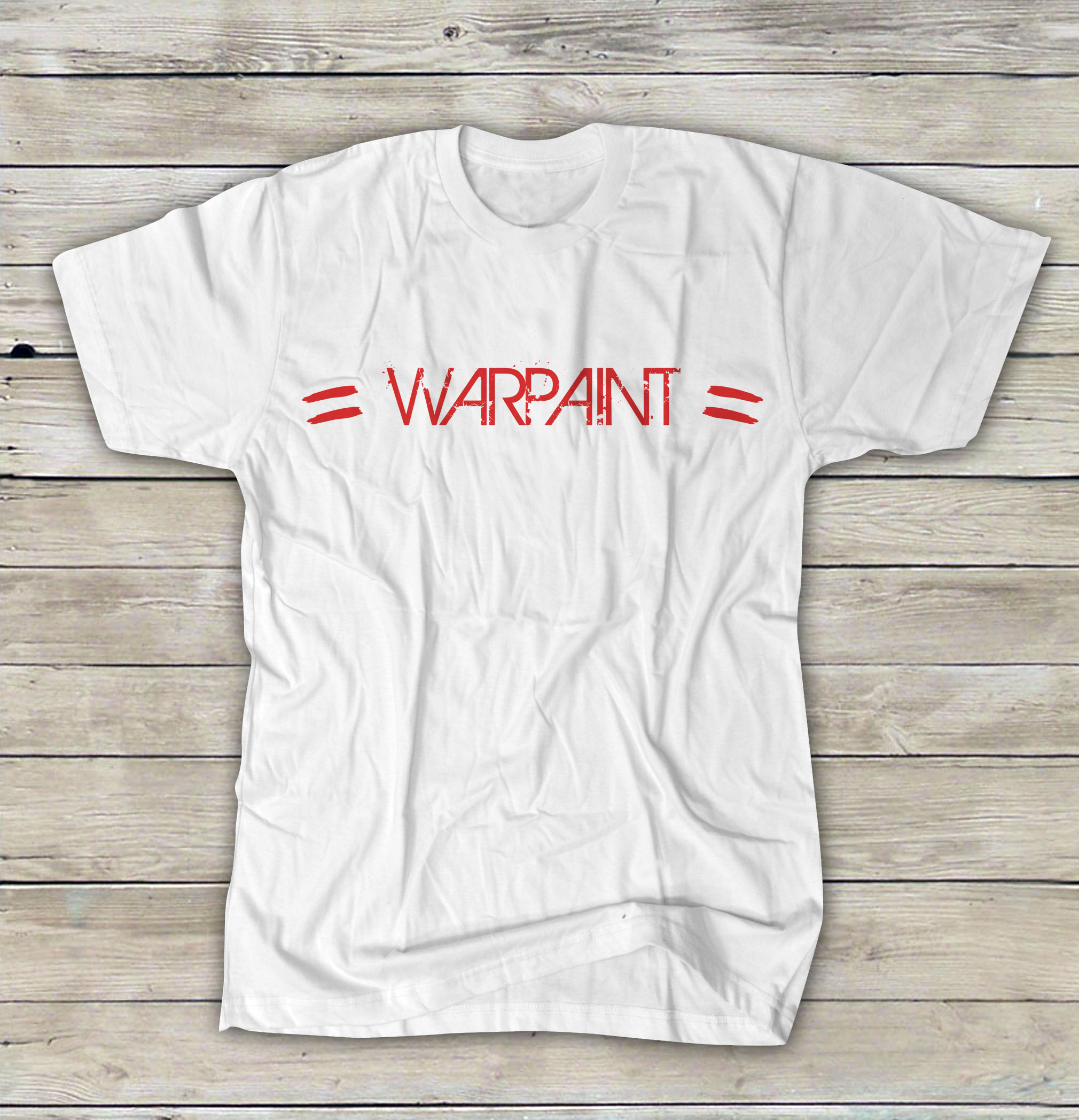 Warpaint Tee Red Logo On Storenvy
