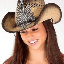 5b3c7dc469504 Envy Khaki   White Fleur Bling Rhinestone Trucker Hat on Storenvy