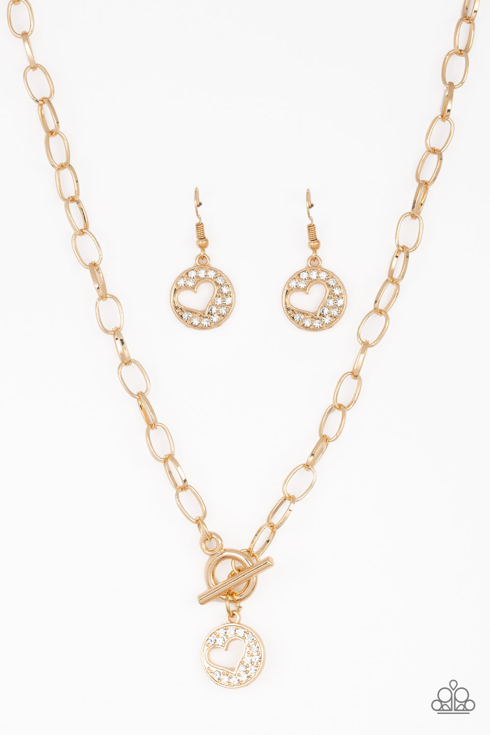 Heartbeat Retreat Gold Paparazzi Accessories Diamonds Gems Boutique Online Store Powered By Storenvy