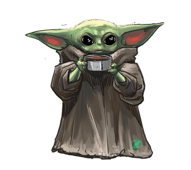 Baby Yoda Baby Yoda Sticker Mandalorian Inspired Sticker Baby Yoda Decal
