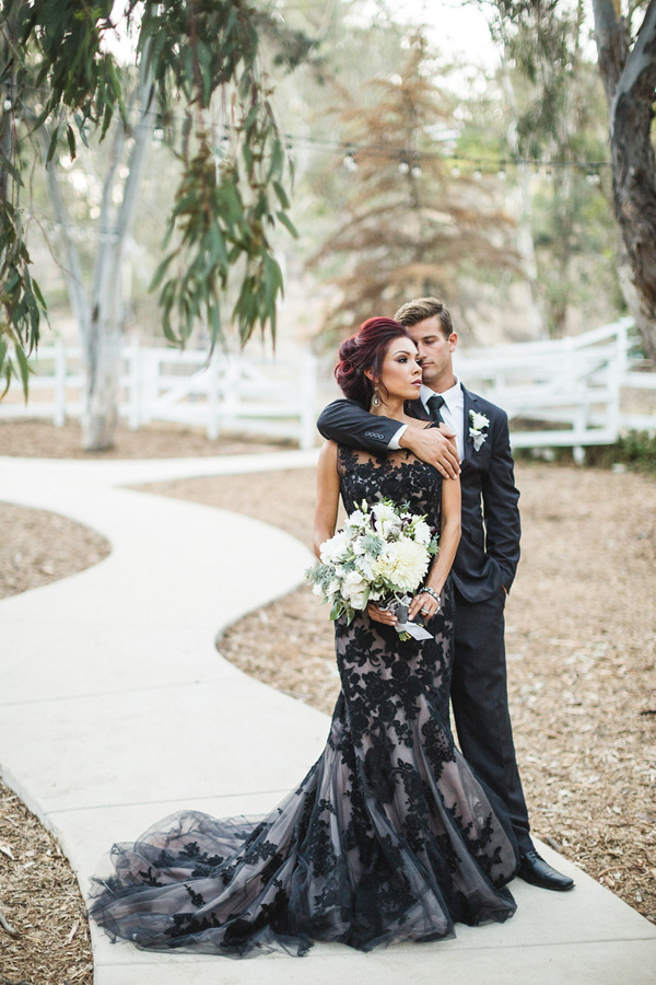 Vintage Black Mermaid Tulle Wedding Dresses Sheer Crew Neck Appliques Bridal Gowns 398 Muttie Dresses Online Store Powered By Storenvy