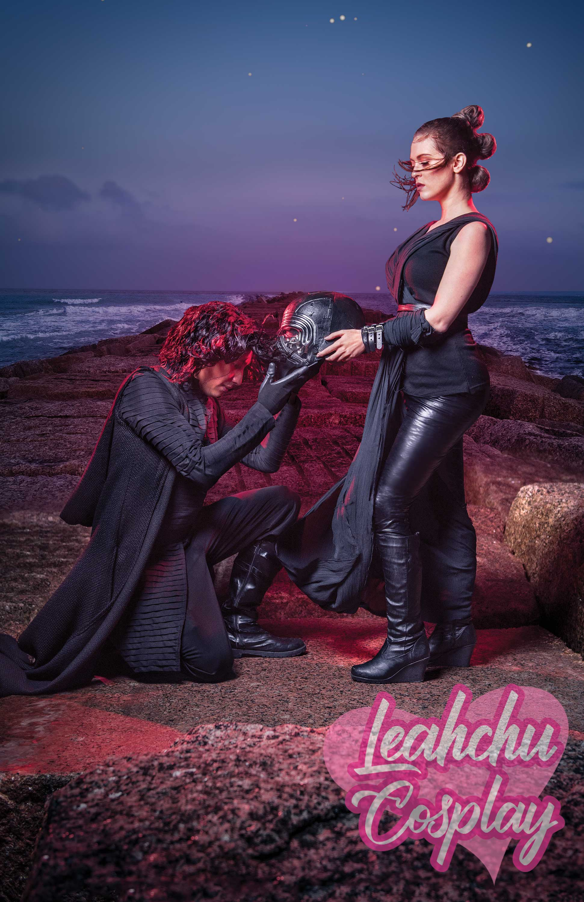 Dark Rey And Kylo Ren Reylo Cosplay Star Wars The Rise Of Skywalker 3 Sold By Leahchu Cosplay On Storenvy