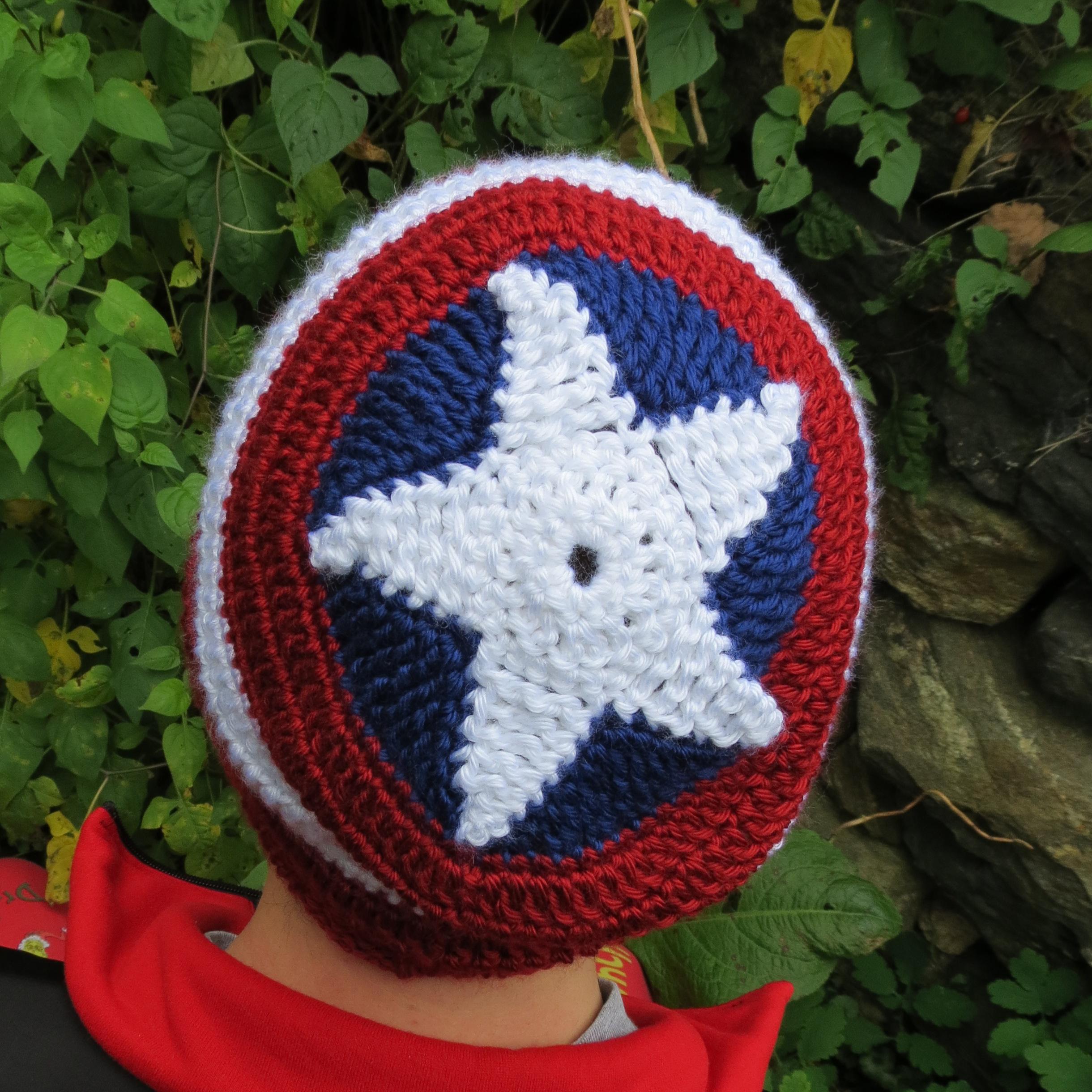 Captain America Beanie Hat on Storenvy