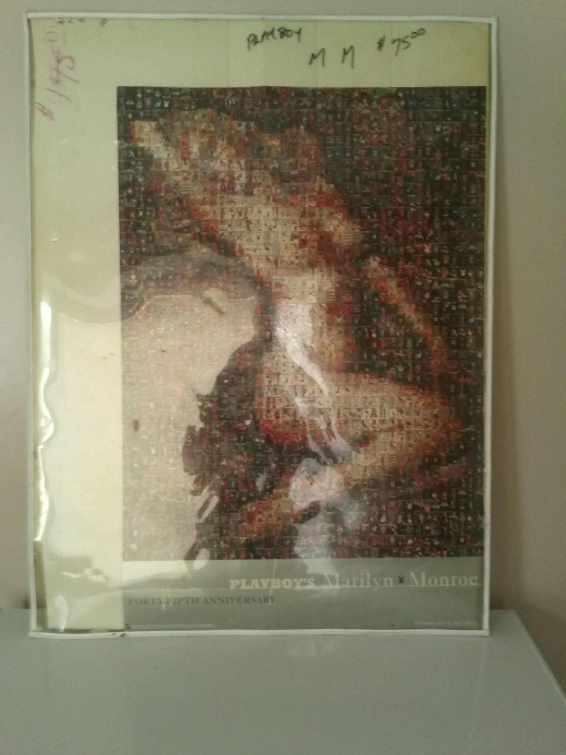Well-known Marilyn Monroe Playboy Stamp Poster · In the Closet Boutique  IV96