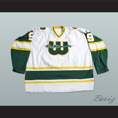 a288efe6206 Wha new england whalers gordie howe 9 white hockey jersey new - Thumbnail 3