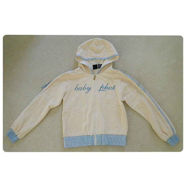 6be6a8dbec15d Girls Baby Phat Cream/Light Blue Jacket · Rillest · Online Store ...