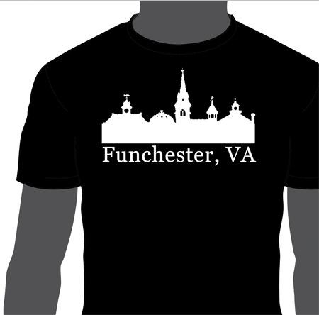 Funchester, VA T-Shirt sold by Secret Society Press