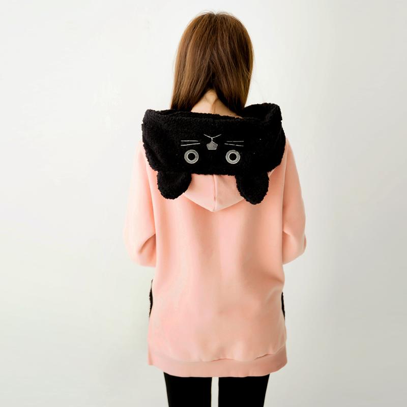 Cute cat hoodie