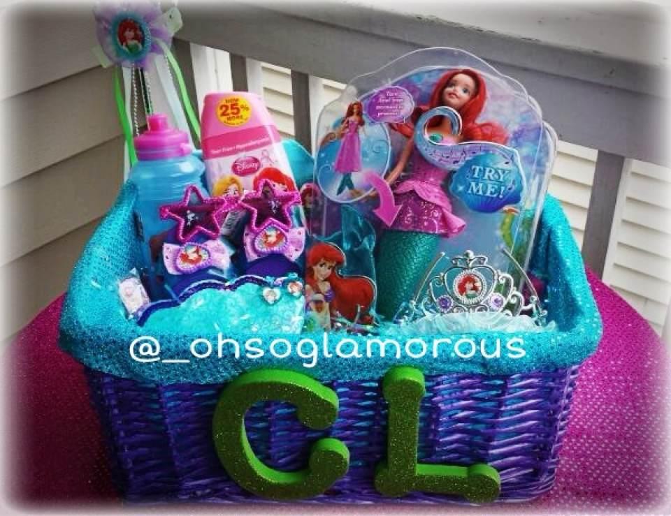 Oh So Glamorous Custom Personalized Little Mermaid